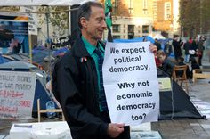 We expect political democracy. Why not economic democracy too.