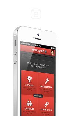 Endorphin by Keepa, via #Behance #Mobile #UI
