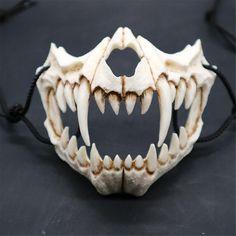 Animal Masks, Animal Skulls, Halloween Games, Halloween Cosplay, Link Halloween, Halloween Forum, Halloween Halloween, Maske Halloween, Ninja Mask