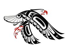 Eagle-Prints - Glen Rabena, Northwest Coast Native Artist