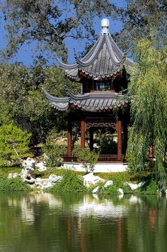 Huntington gardens in San Marino, CA.