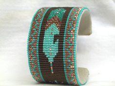 Thumbnail of Southwestern Beaded Cuff Bracelet 1536
