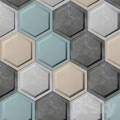 Tile concrete wall