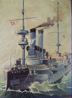 USS Chicago (1885). Builder: John Roach & Sons. Laid down: 29 December 1883. Launched: 5 December 1885. Commissioned: 17 April 1889. Decommissioned: 30 September 1923. Reclassified: CL-14, 8 August 1921. Fate: sold/foundered (sunk) in Pacific. Type: Protected cruiser. Displacement: 4,500 long tons.