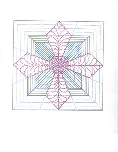 This is the same block but adding some fillers. Quilting Stencils, Quilting Templates, Machine Quilting Designs, Longarm Quilting, Free Motion Quilting, Hand Quilting, Quilting Projects, Quilt Block Patterns, Quilt Blocks