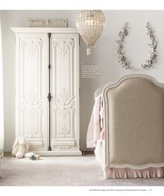 RH Baby & Child's Frayed Ruffle Crib Bumper:This charming collection borrows its heirloom appeal from a soft textural blend of cotton and linen. Unfinished edges lend a well-worn, relaxed note to the sweet ruffle trim. Rococo Furniture, Kids Furniture, Baby Room Decor, Bedroom Decor, Baby Rooms, Rh Baby, Decoration, Home Furnishings, Luxury Homes