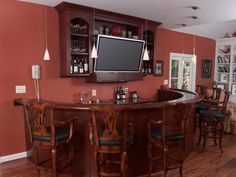 31 Hassle Free Home Bar Ideas - SloDive