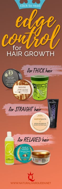 Easy Smooth Edges with Edge Control for Your Natural Hair Edge Control for Hair ., Easy Smooth Edges with Edge Control for Your Natural Hair Edge Control for Hair Growth Big Natural Hair, Natural Hair Wigs, Natural Hair Care Tips, Natural Afro Hairstyles, Pelo Natural, Natural Hair Growth, Cool Hairstyles, Natural Hair Styles, Natural Curls