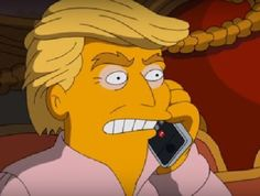 'Build another wall loser': The Simpsons' new Trump spoof