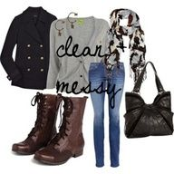 More outfits with combat boots