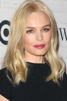 Kate Bosworth - Love her hair. Going Blonde, Cool Blonde, Light Blonde, Blonde Color, Kate Bosworth, Celebrity Hairstyles, Easy Hairstyles, Blonde Hairstyles, Blonder Bob