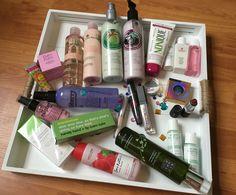 gewonnen beautypakket atenga
