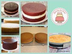 Escola de Bolo | Como assar um bolo reto.