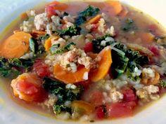 Turkey & Kale Soup w