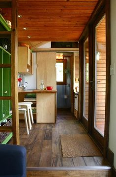 Tall Man's Tiny House  By far the most amazing tiny house I have seen.  I want it.