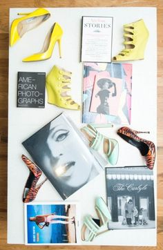 Fashion Display: Shoes as Art from The Coveteur