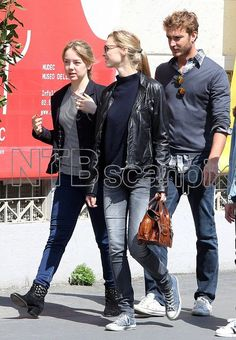 2016 - Beatrice with Pierre and his younger sister