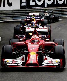 On Track w/Kimi Raikkönen @ the 2014 Formula 1 Grand Prix de Monaco #F1