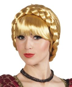 Boland Medieval Wig, Blonde for sale Fancy Dress Accessories, Wigs For Sale, Costume Wigs, Plaits, Pregnancy, Chokers, Lady, Tour, Leadership
