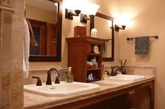 Wheelchair Accessible Sink Bathroom Design Ideas, Pictures, Remodel and Decor