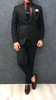 Costume Slim, Mode Costume, Blazer Outfits Men, Stylish Mens Outfits, Wedding Dresses Men Indian, Wedding Suits, Mens Prom Suits, Indian Men Fashion, Mens Fashion Suits