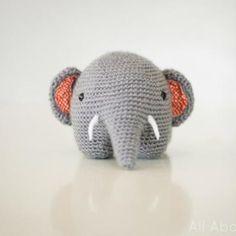 Download Gris the elephant amigurumi pattern - Amigurumipatterns.net