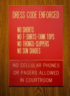 courtroom signage - Google Search