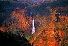 Waipo'o Falls, Waimea Canyon