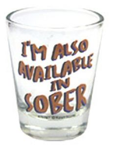 Plastic I'm Also Available in Sober Shot Glass Funny Shot Glasses, Hand Painted Wine Glasses, Sober, Cricut, Shots, Plastic, Count, Tableware, Walmart