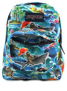 Jansport® Superbreak Sloth Backpack #JanSport #Backpacks #Sloth #Sharks # BackToSchool