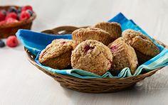 Muffins aux petits fruits des champs | Recettes saines pour les boîtes à lunch | Tremplin Santé
