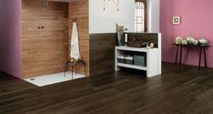 Amenajari Gresie si Faianta FILTRE SELECTATE Lemn Baie Wood Interior Design, Wood Interiors, Floor Design, Flooring, Ceramics, Home Decor, Furniture, Ideas, Wood