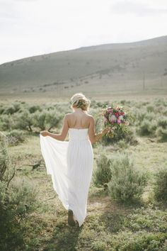 Stunning bohemian bride.