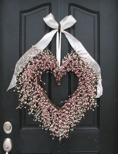 Bridal Shower Wreath - The Friendship Wreath - Door Wreaths.  via Etsy.