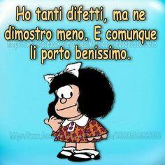 Mafalda - ho tanti difetti ...