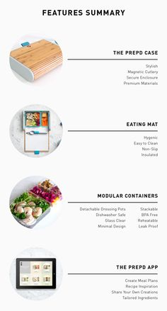 An intelligently designed, beautifully crafted lunchbox and smart recipe app: Get Prepd and kickstart your healthier lifestyle.