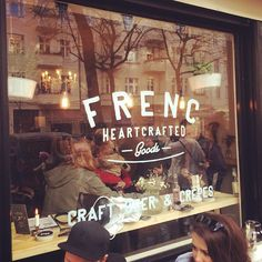 """See 51 photos and 33 tips from 271 visitors to FRENC heartcrafted goods. """"Craft Beer and Crêpes.need I say more! Berlin Food, Berlin Berlin, Craft Beer, Four Square, Fun Crafts, Really Cool Stuff, The Good Place, Neon Signs, Tips"""