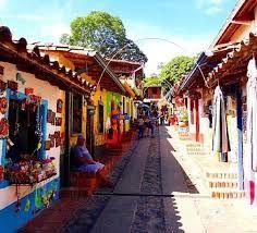 Calle Artesanal de Peribeca, estado Táchira
