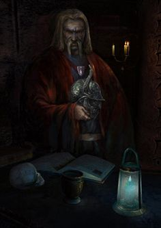 Morrowind: Sorkvild the Raven by IgorLevchenko
