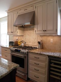 Dove White Kitchen Cabinets With Taupe Grey Glaze Gallo