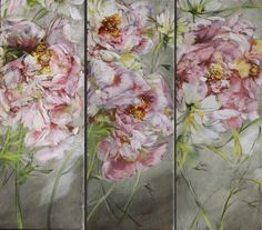 Claire BASLER - Contemporary Artist - Flowers - Peinture 078