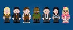 Criminal Minds - TV Characters - Digital PDF Cross Stitch Pattern