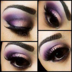 Purple & coral