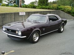1967 Camaro SS, what a beauty.