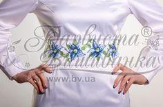 Атласный белый женский пояс ПС-018Б