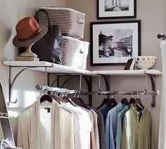organizar ropa sin armario