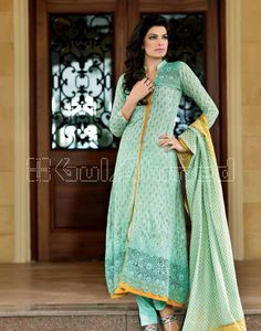 Women who are looking for latest fashion we suggest them this elegant Gul Ahmad lawn collection 2016-17. Gul Ahmed designs all kind of women dresses like causal