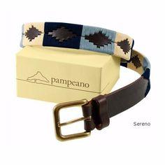 Pampeano Sereno belt, beautiful blues.