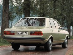 Audi 80 GLS (B1) '1976–78