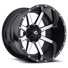 Maverick - D261 - Fuel Off-Road Wheels